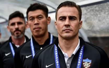 Cannavaro, esordio con sconfitta in Cina