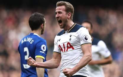 Premier, Kane trascina il Tottenham. City ok