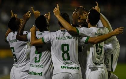Libertadores, la Chapecoense vince all'esordio