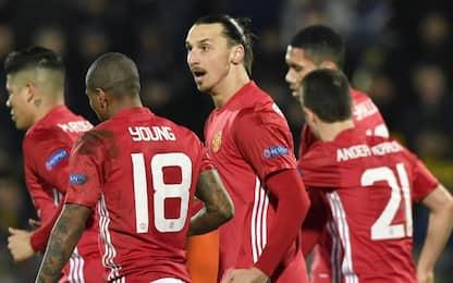Il Rostov ferma Mou, con lo United è 1-1