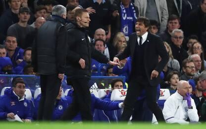 Conte-Mourinho, amici mai: che scintille in FA Cup