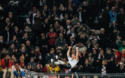 Germania, addio da eroe per Podolski