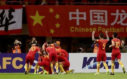 Qualificazioni Mondiali, vince la Cina di Lippi