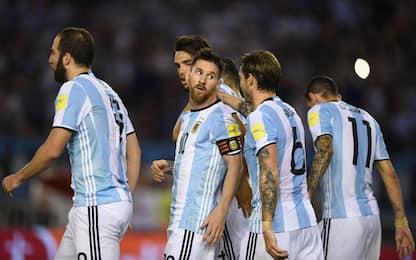 Argentina, basta Messi: rigore dubbio, Cile ko