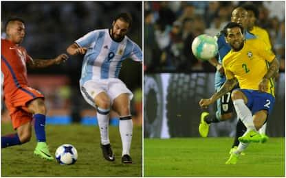 Higuain e Dani Alves squalificati: la Juve sorride