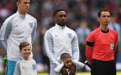 Bradley mascotte dell'Inghilterra: emozione Defoe