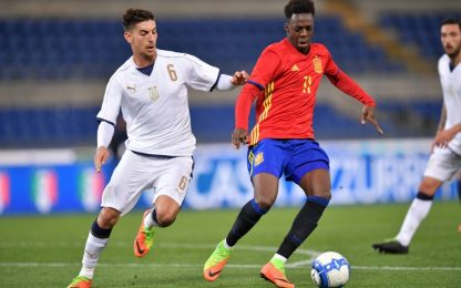 U21, Pellegrini non basta: Italia ko con la Spagna