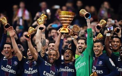 Coupe de la Ligue, Monaco-Psg 1-4: titolo a Emery