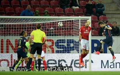 Lipsia, colpo a Mainz! Risorge il Leverkusen
