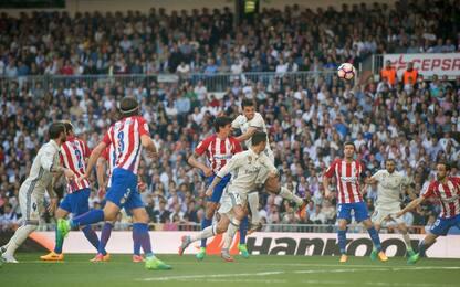 Griezmann beffa Zidane: Real-Atletico finisce 1-1