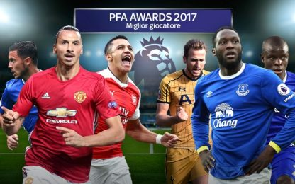 "Premier, ecco i candidati al ""Player of the year"""