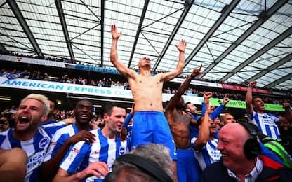Festa del Brighton, torna in Premier dopo 34 anni