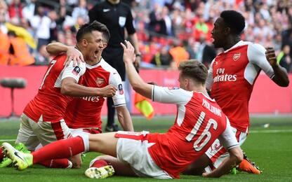 FA Cup, Arsenal in finale: 2-1 sul Man City