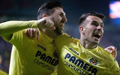 Atletico Madrid-Villarreal 0-1, decide Soriano
