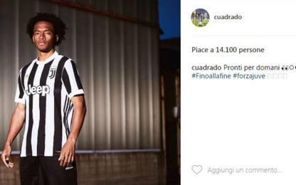 Juve, gaffe Cuadrado: svela la nuova maglia