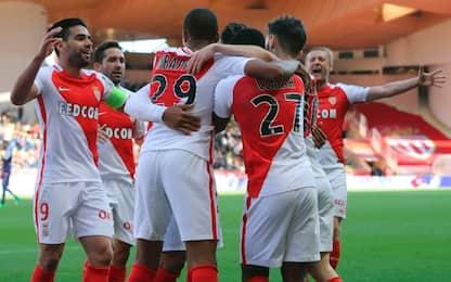 Ligue 1, il Monaco vince in rimonta: 3-1 al Tolosa