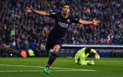 Il Barça non molla il Real: 3-0 contro l'Espanyol