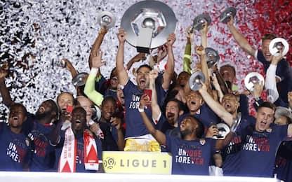 Monaco campione di Francia: è festa al Louis II