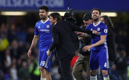 Il Chelsea torna a +7, Conte a un passo dal titolo