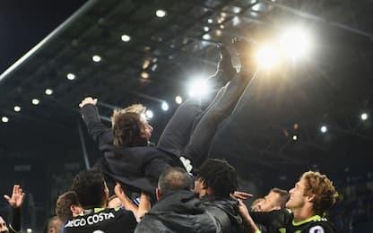 Premier, Conte campione: la festa del Chelsea