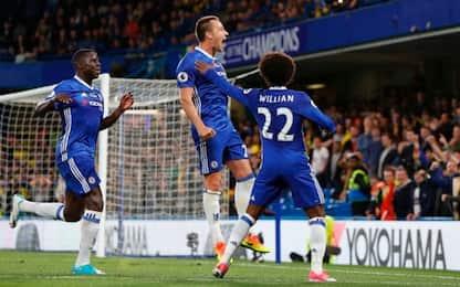 Passerella a Stamford Bridge: Chelsea-Watford 4-3