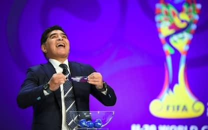Beffa Maradona, esulta al sorteggio ma poi...
