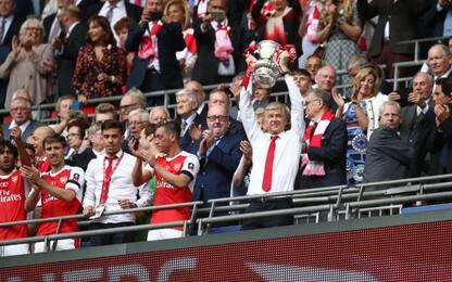 Festa Arsenal, Fa Cup a Wenger: Conte ko 2-1