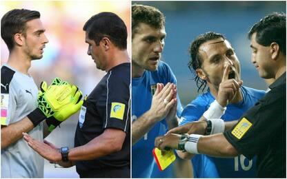 Italia-Zambia, l'arbitro sbaglia anche con la Var