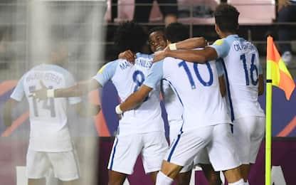 U20: Italia, sogno finito. L'Inghilterra vince 3-1
