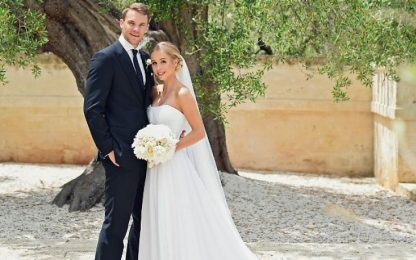 "Neuer ha detto ""Ja"", nozze a Monopoli"