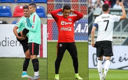 Le stelle della Confederations Cup