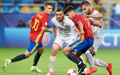 Euro U21: fenomenale Asensio, manita Spagna