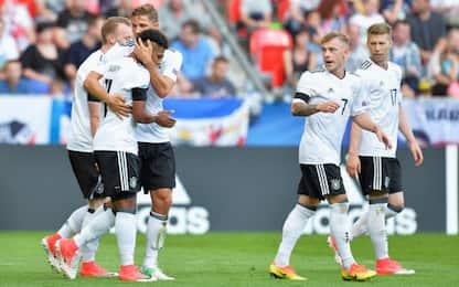 Euro U21. la Germania si sbarazza della Rep. Ceca