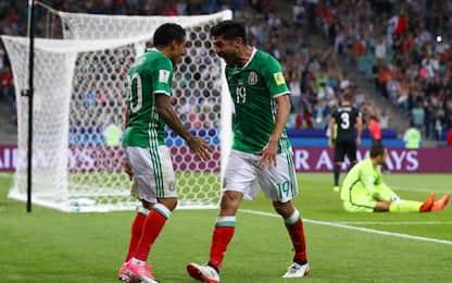 Confederations, Messico-Nuova Zelanda 2-1