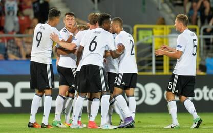 Euro U21, la Germania travolge 3-0 la Danimarca