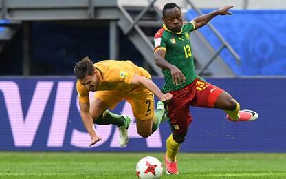 Confederations Cup: Camerun-Australia 1-1