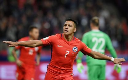 Confederations Cup: Germania-Cile 1-1