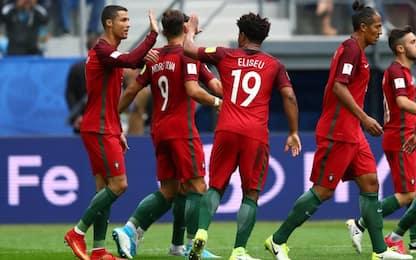 Confederations Cup: Nuova Zelanda-Portogallo 0-4