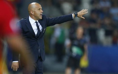 """Italia U21, Di Biagio: """"L'espulsione ha influito"""""""
