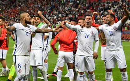 Confederations, Cile in finale: CR7 ko ai rigori