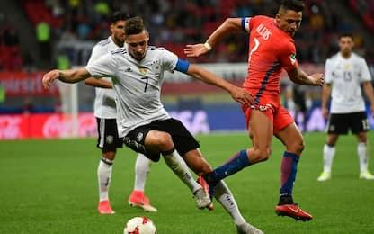 Conf Cup, il Cile vuole sfatare il tabù tedesco