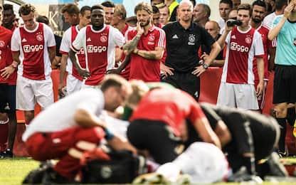 Ajax, danni gravi e permanenti per Abdelhak Nouri