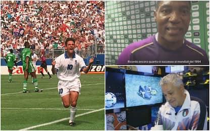 Baggio-Rufai, amici nonostante Italia-Nigeria '94