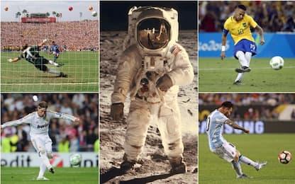 Da Baggio a Messi, quando il rigore va sulla luna