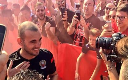 Nizza, ufficiale Sneijder: indosserà la 10