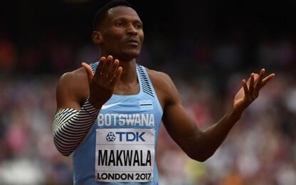 Atletica, Makwala respinto: niente finale dei 400