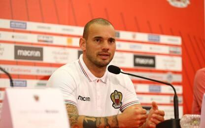 """Nizza, ecco Sneijder: """"Non temiamo il Napoli"""""""