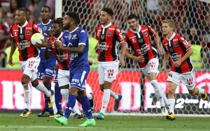 Ligue 1, il Nizza non ingrana: vince il Troyes 2-1