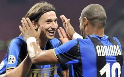 """Ibra: """"Ho giocato con i migliori, Adriano il top"""""""
