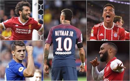 Da Ney a Salah, mercato vuol dire gol (all'estero)